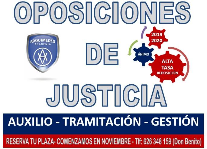 OPOS DE JUSTICIA